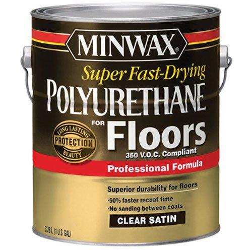 Minwax 130250000 Super Fast-Drying Polyurethane For Floors