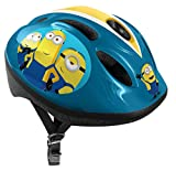 Stamp Bicycle Helmet Minions 2, Unisex-Youth, Azul, Talla-S