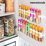 InnovaGoods IG815530 Organizador de Especias Adhesivo y Divisible Spicer X20,...