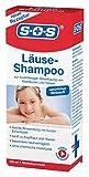 SOS Läuse-Shampoo | zur Beseitigung von Kopfläusen und Nissen | hautfreundlich | kurze Einwirkzeit
