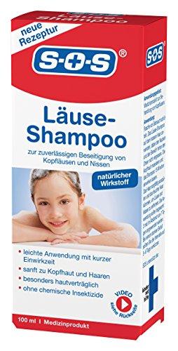 bester der welt SOS Läuseshampoo |  Entfernt Läuse und Nito |  Haut sanft |  Kurze Belichtungszeit 2021