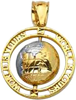 Best real gold pendant mens Reviews