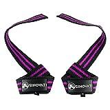 SINOVATI® Weightlifting Straps - Zughilfen für Fitness, Krafttraining & Bodybuilding, Frauen und...