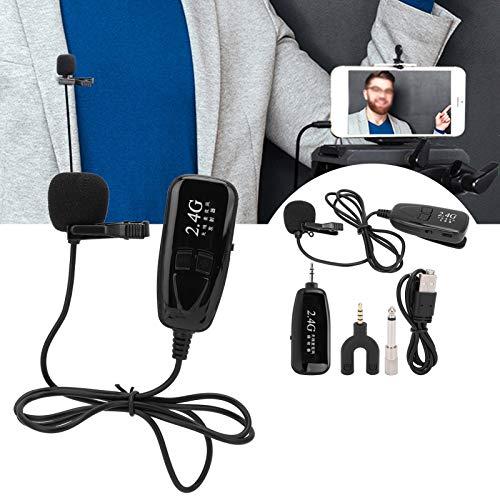 Micrófono, receptor Sistema de micrófono inalámbrico de condensador para grabación de video para SmartPhone