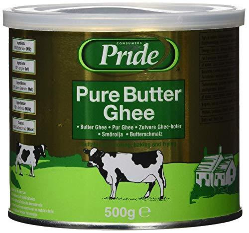 Pride Pure Mantequilla ghee, 1er Pack (1x 500gramos)