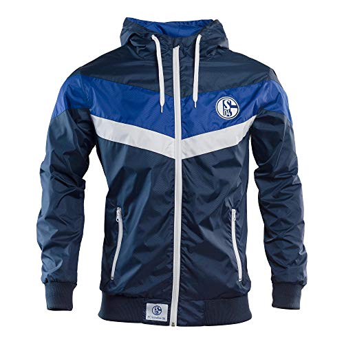 Schalke 04 Windbreaker Wind-Jacke (L)