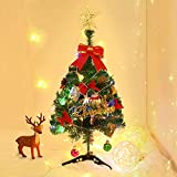 FRIDEKO HOME Spritzguss Weihnachtsbaum künstlich Grün 60cm Tannenbaum Kiefernadel mit