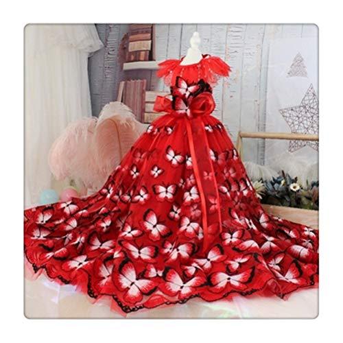 Flashing Vestido de perros de mascotas Princesa Boda vestido de arrastre for...