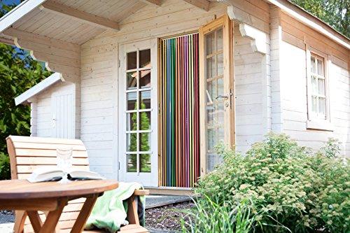Streifenvorhang multicolor 90 x 200 cm