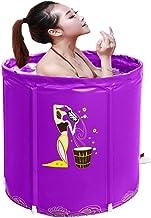 Opblaasbare badkuip, draagbare plastic volwassen bad, baby zwembad, vrijstaand bad, warme non-slip reizen dikke vouwen Fol...