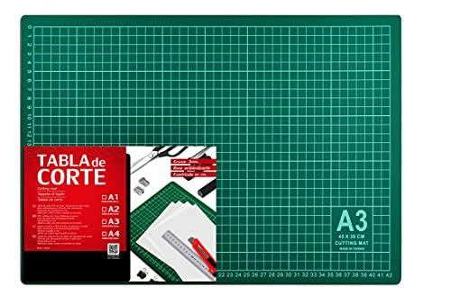 Base de Corte Autocicatricante Patchwork - Cutting Mat de 5 capas para Costura y Manualidades (TAMAÑO A3 - 42 x 29,7 cm)