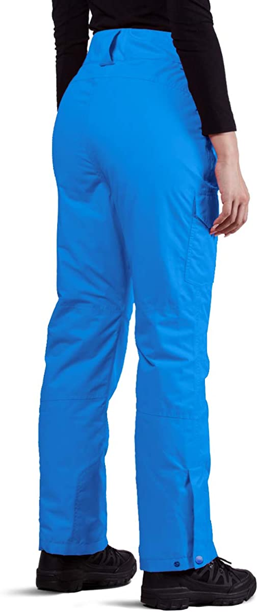 FREE SOLDIER Womens Outdoor Waterproof Windproof Breathable Snow Ski Pants Winter Insulated Snowboarding Skiing Pants