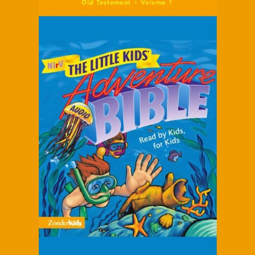 NIrV The Little Kids' Adventure Audio Bible cover art