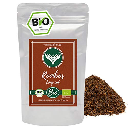 Azafran BIO Rooibos Tee lose - Rotbuschtee Natur 250g