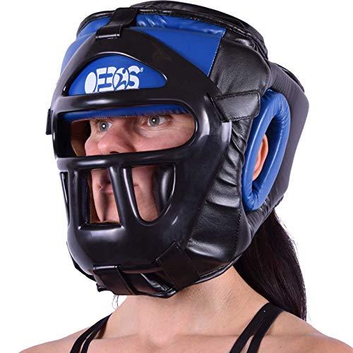 Ofbos® Casco MMA Caschetto Griglia Pugilato Arti Marziali Muay Thai Kick Boxing Head Guard Sparring...