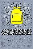 BACKPACKER: Best Travel Notebook Journal For Man, Women and kids