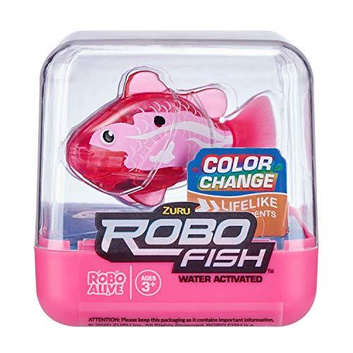 ZURU ROBO ALIVE Fish-SERIES1 2PK(Lilac+Pink) (7141D-S001)
