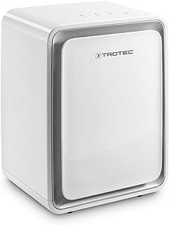 TROTEC Deshumidificador eléctrico TTK 24 E, 10L/24h, Depósito 1,6 L, Portátil, Ligero, para Habitaciones de hasta 15m²/37 m³, Filtro de Aire, Silencioso, 250 W, Auto-Apagado, Blanco