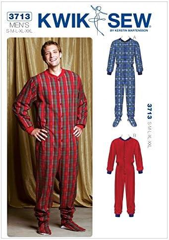 Schnittmuster kostenlos herren pyjama