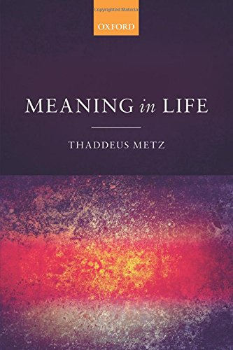 Meaning in Life: An Analytic Study