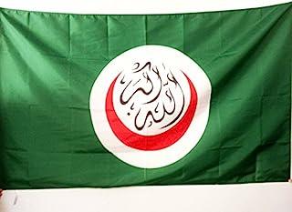 علم علم علم التعاون الإسلامي 3 × 5 قدم لقطب - OIC - أعلام رجل مسلم 90 × 150 سم - لافتة 3 × 5 أقدام مع فتحة