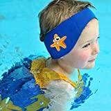 SUIEK Swimming Headband - Free Swimming Earplugs a Pair (Blue, M: 6 M-...