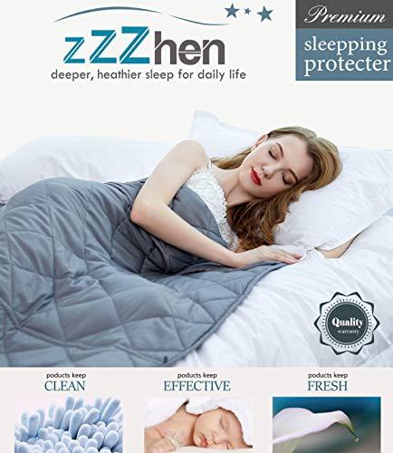 ZZZhen Weighted Blanket - 15 Pounds