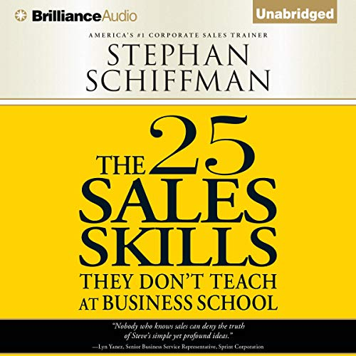The 25 Sales Skills  By  cover art