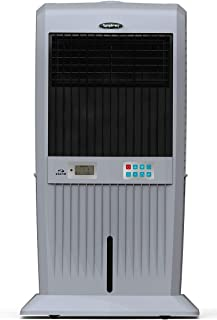 Symphony STORM 70i Desert Tower Air Cooler 70-litres, with Remote, 3-Side Honeycomb Pads, LCD Control Panel, Multistage Ai...