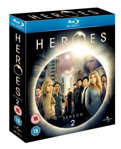Heroes Season 2 [Blu-ray] [Region Free]