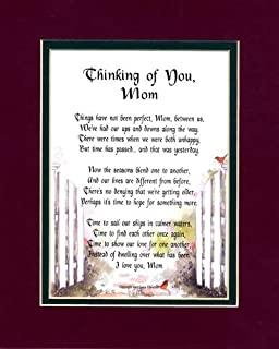 An Apology Gift Poem Christmas Present For A Mother, #14, Mending An Estranged Relationship