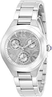 Invicta Women's Analogue Quartz Watch with Stainless Steel Strap 30681