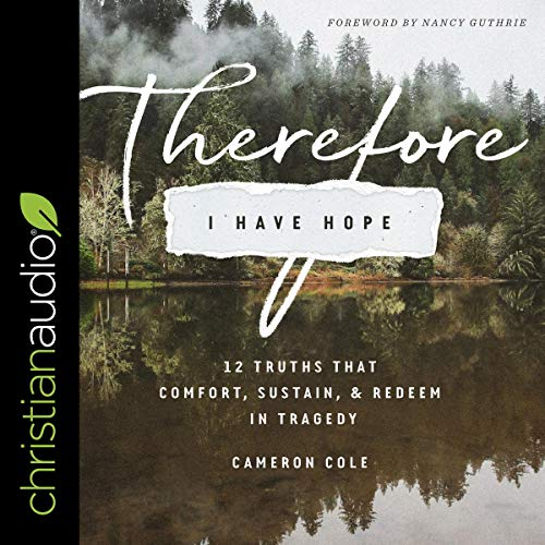 Page de couverture de Therefore I Have Hope