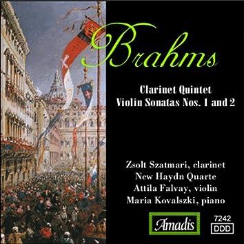 Brahms: Clarinet Quintet / Violin Sonatas Nos. 1 and 2