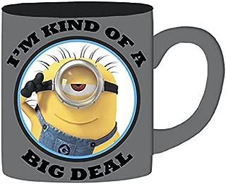 Silver Buffalo DM112934 Universal Minion Big Deal Jumbo Ceramic Mug, 20 oz, Multicolor