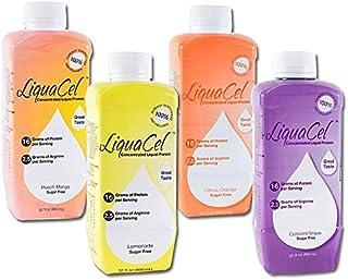 LiquaCel Liquid Protein Case (6 32oz Bottles) Peach Mango