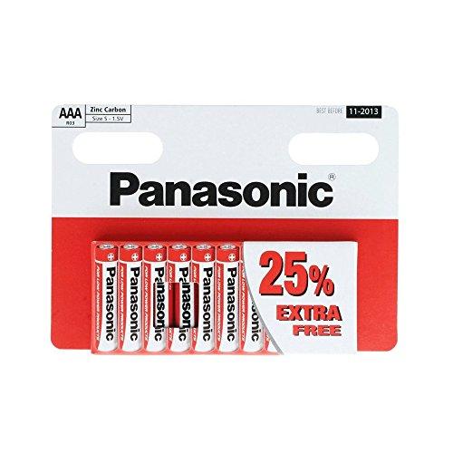 Panasonic AAA R03 - 10 piles