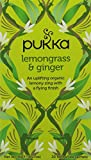 Pukka Lemongrass & Ginger Herbal Tea, 20 Sachets
