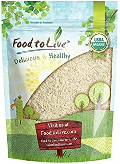 Food to Live Organic Millet Flour (Non-GMO, Stone Ground, Unbleached, Unbromated, Raw, Vegan, Bulk, Product of the USA) — 1 Pound