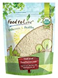 Food to Live Organic Millet Flour (Non-GMO, Stone Ground, Unbleached, Unbromated, Raw, Vegan, Bulk,...