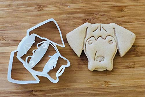 Great Dane Cookie Cutter and Dog Treat Cutter - Dog Face