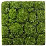 ZCYY Tappeto erboso Artificiale, Tappetino d'erba- Forma di Pietra Tappeti erbosi Artificiali Verdi per Interni Tappeti erbosi Finti Muschio di zolla per la Decorazione del Balcone dell