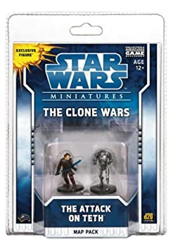 Star Wars Miniatures The Clone Wars  The Attack on Teth  A Star Wars Miniatures Map Pack