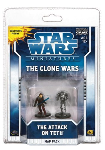 The Clone Wars: The Attack on Teth: Map Pack 1 ('Star Wars Miniatures)