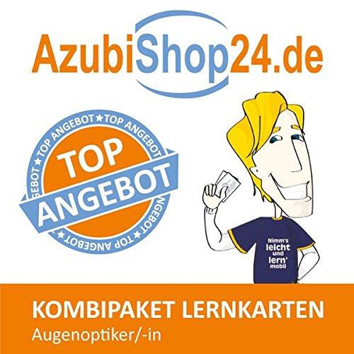 AzubiShop24.de Kombi-Paket Lernkarten Augenoptiker/in: Erfolgreiche Prüfungsvorbereitung auf die Abschlussprüfung