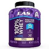EAS 100% Pure Whey Protein Powder, Vanilla, 5 LB, 30 Grams of Whey...
