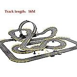 ZKW-Track Slot 16M del Coche de Carril de la Pista 1: Controladores de accionamiento Manual 43 del Modelo de Escala de Empalme Pista de Coches R/C de Alta Velocidad Regalos eléctrico Controllerl PIS