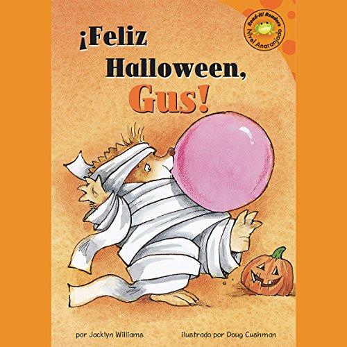 Feliz Halloween, Gus! (Happy Halloween, Gus!) audiobook cover art