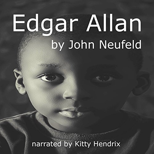 Edgar Allan audiobook cover art