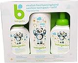Babyganics Hand Sanitizer Refill (2 Pack ) Net Wt 32.9 Fl Oz, 32.9 Fluid Ounce